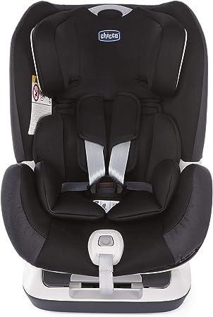 Chicco Seat up 012 Silla de coche isofix grupo 012 (0-25kg) con reductor, color negro (Jet Black) Silla de coche grupo 0+/1/2, Color Jet Black