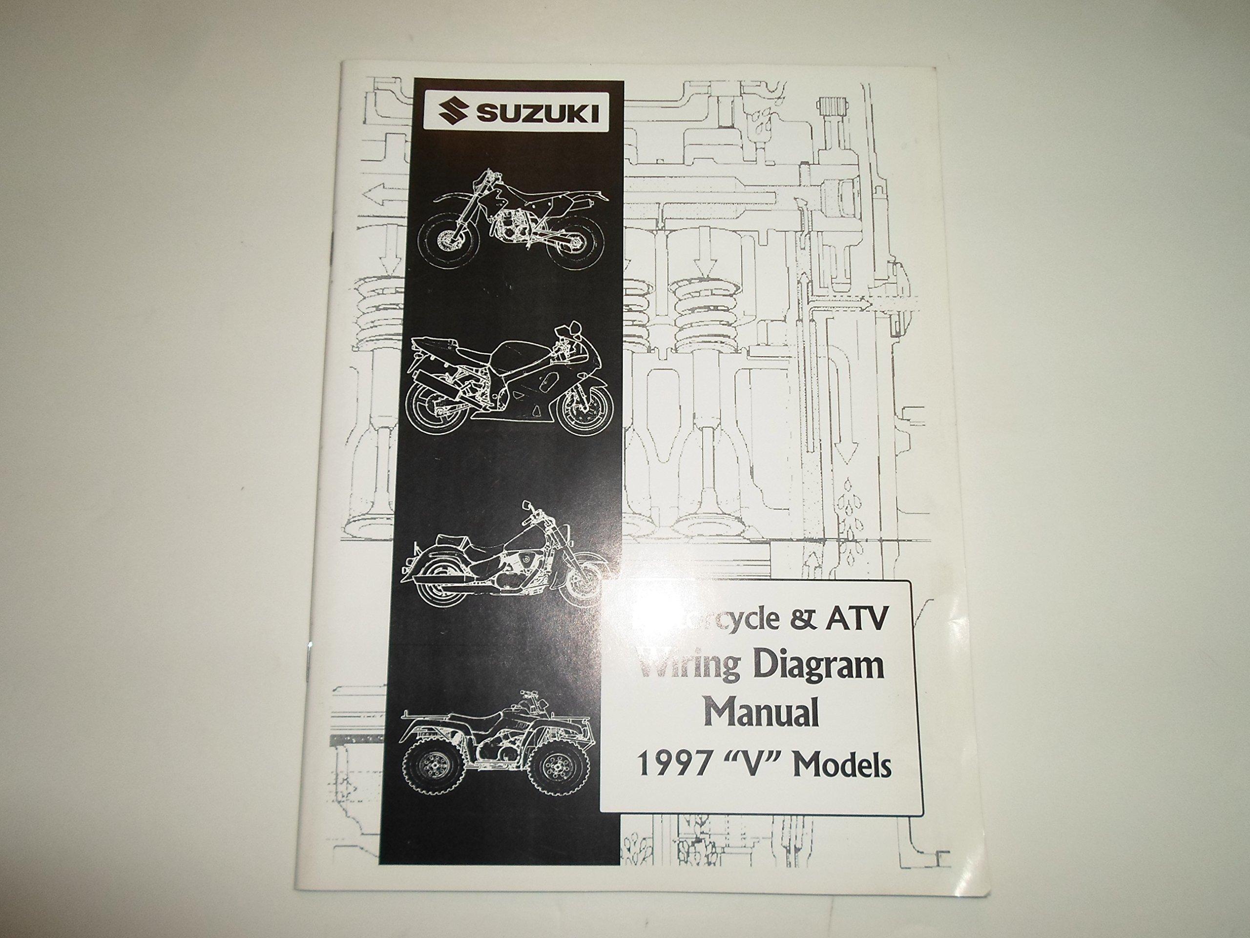 1997 Suzuki Motorcycle Atv Wiring Diagram V Manual Suzuki Automotive Literature Amazon Com Books