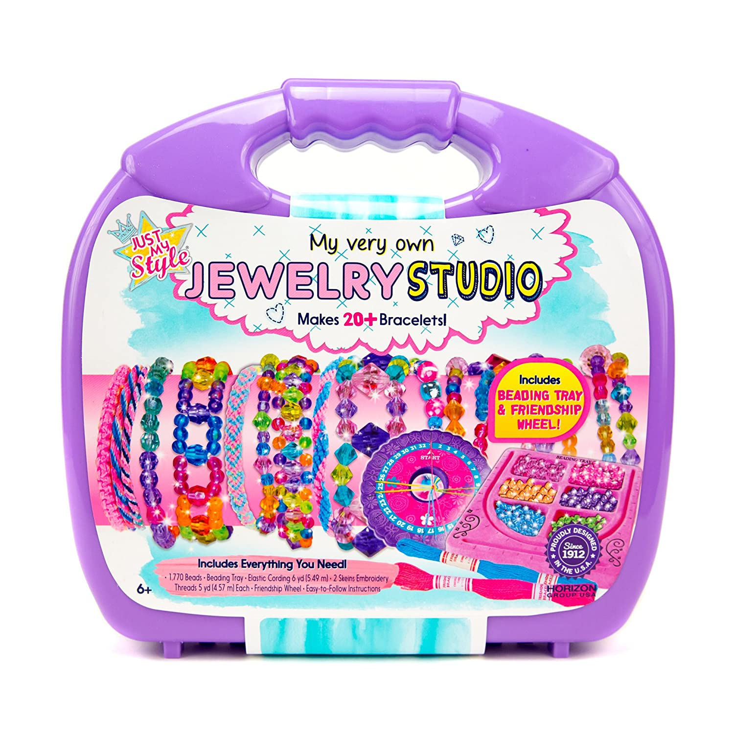Just My Style My Very Own Jewelry Studio by Horizon Group USA 765940620830