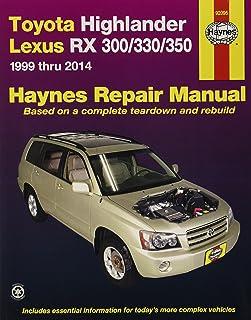 amazon com chilton automotive repair manual for toyota highlander rh amazon com 2007 toyota highlander repair manual free 2006 toyota highlander repair manual