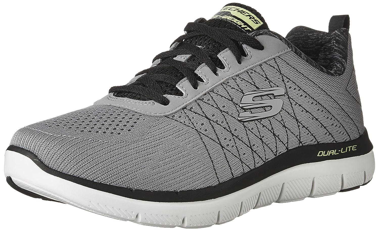 gris (lumière gris noir) 48.5 EU Skechers Flex Advantage 2.0-The Happs, Chaussures de FonctionneHommest Homme
