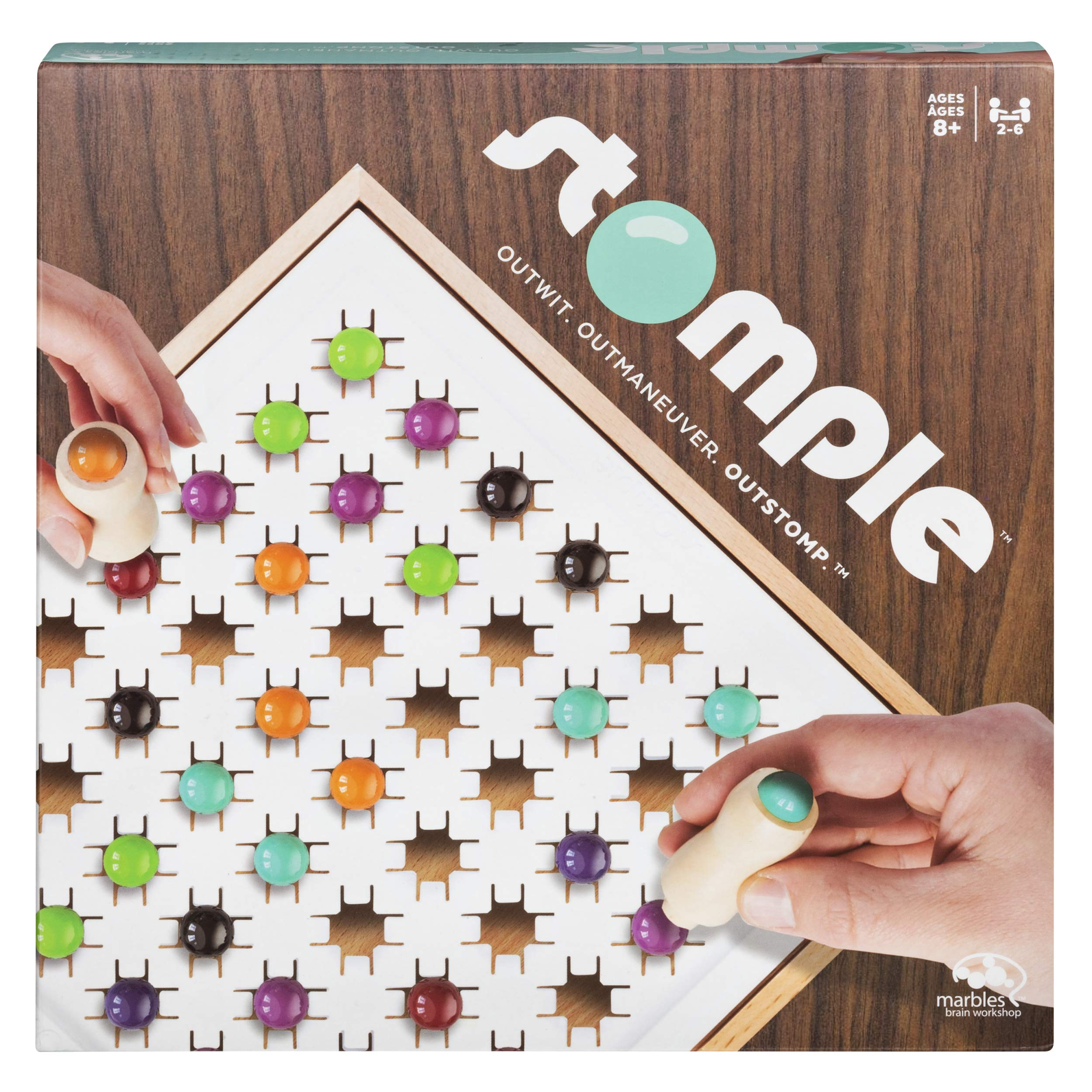 Marbles 6044797 Otrio Le Strategy-Based Board Game