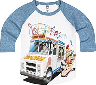 product image for Shirts That Go Little Boys' Ice Cream Truck Raglan T-Shirt