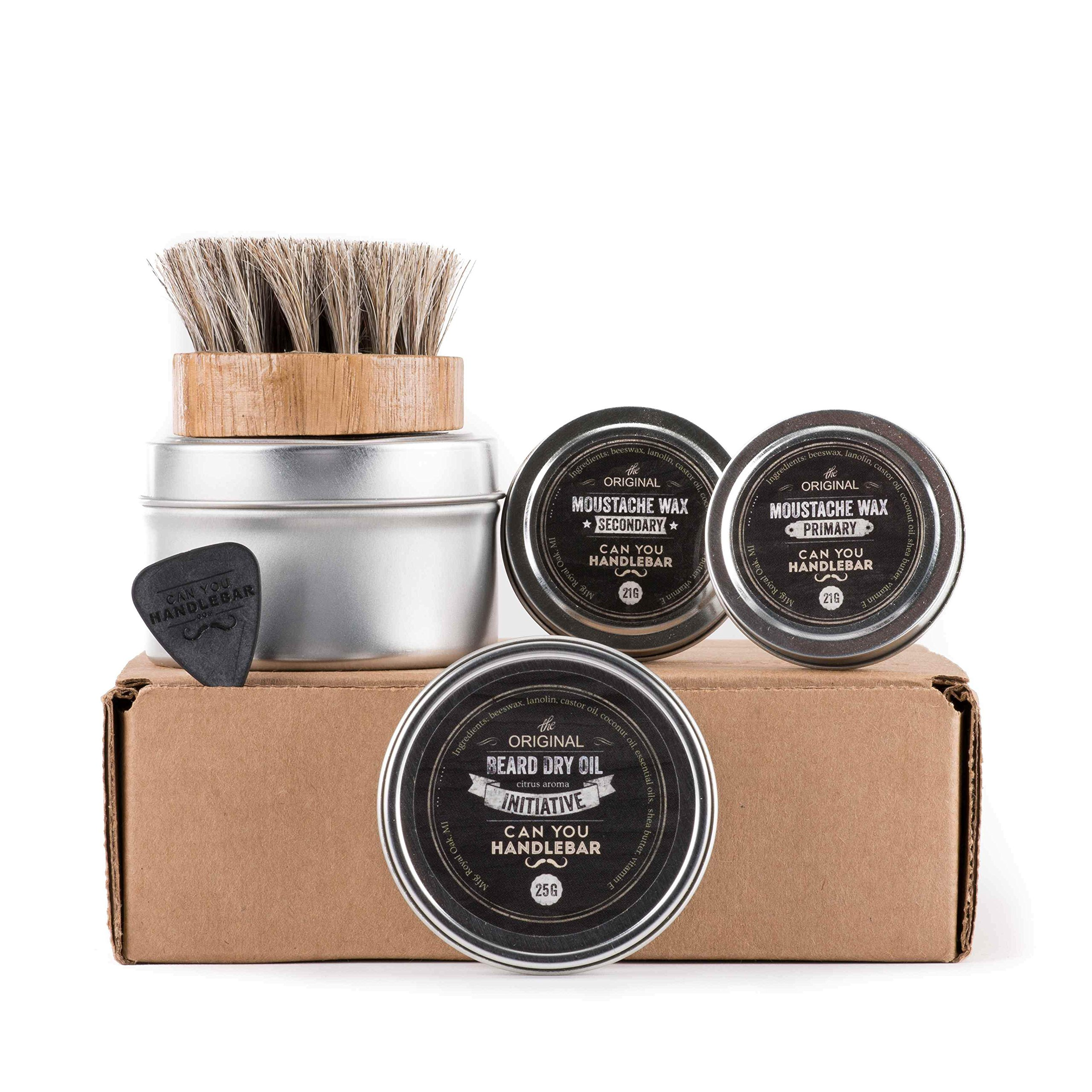 CanYouHandlebar Basic Beard Care Kit : Initiative Beard Dry Oil by CanYouHandlebar