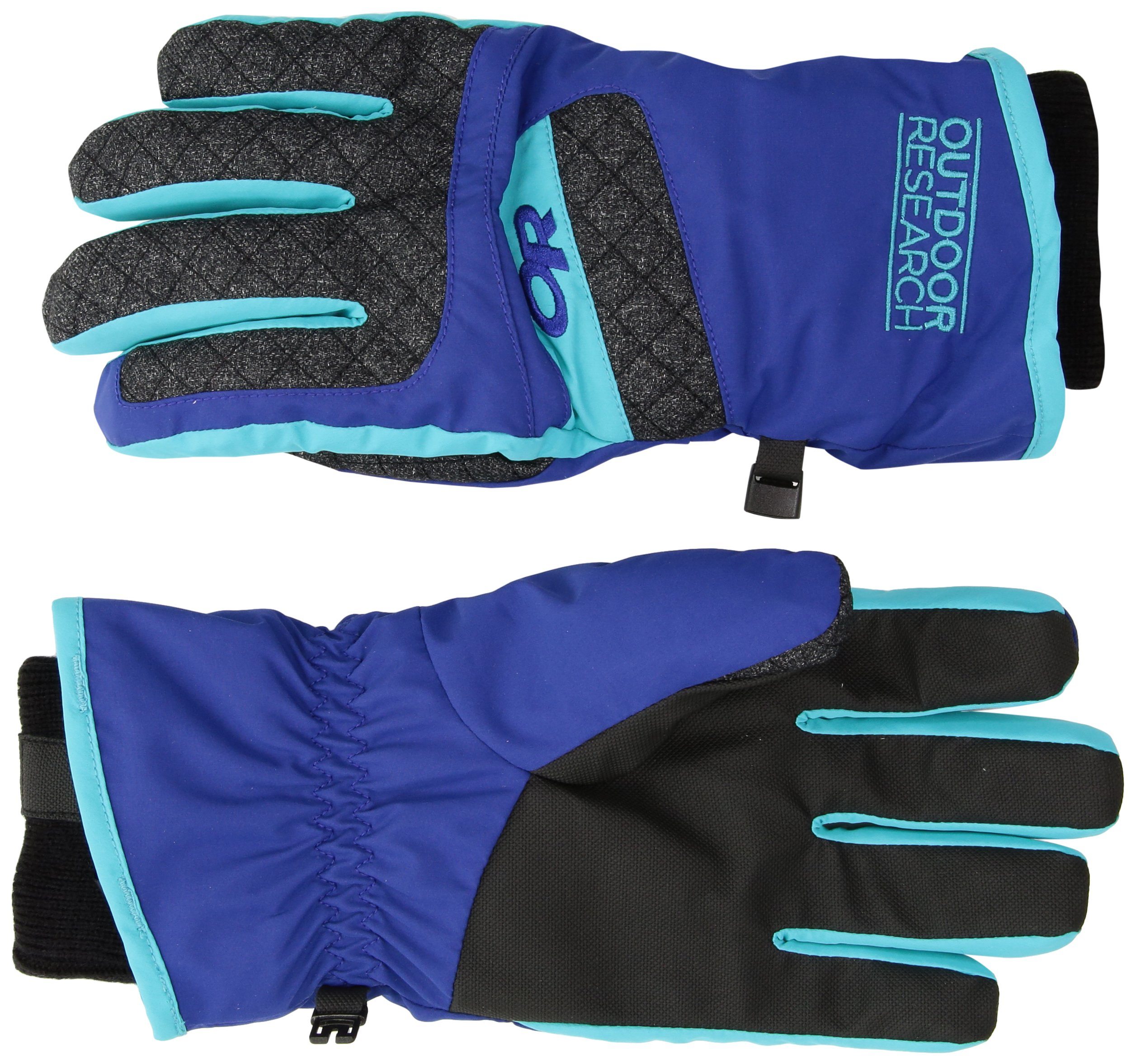 Outdoor Research Women's Riot Gloves, Baltic/Typhooon, Small