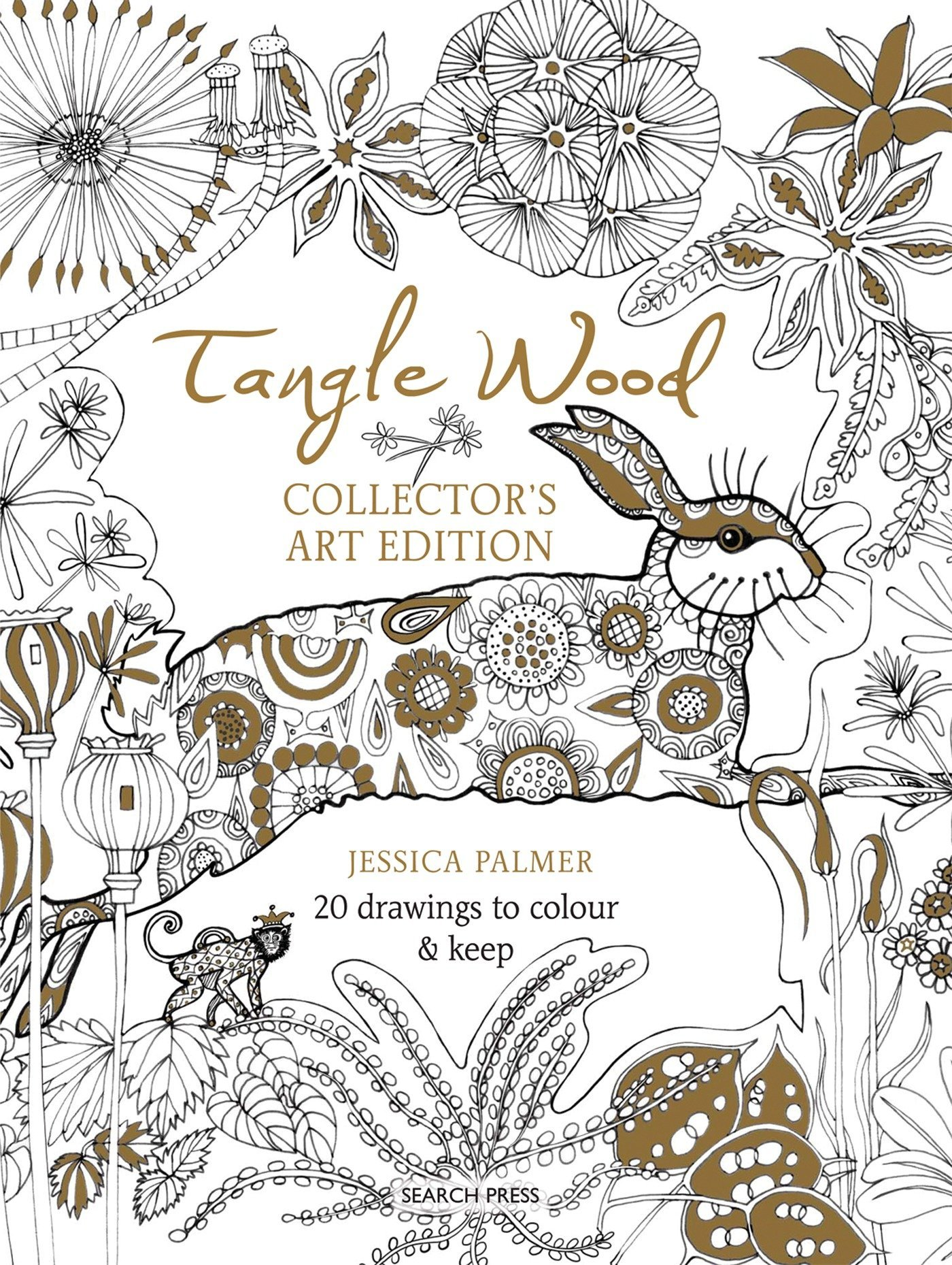 Amazon.com: Tangle Wood Collector\'s Art Edition: 20 drawings to ...