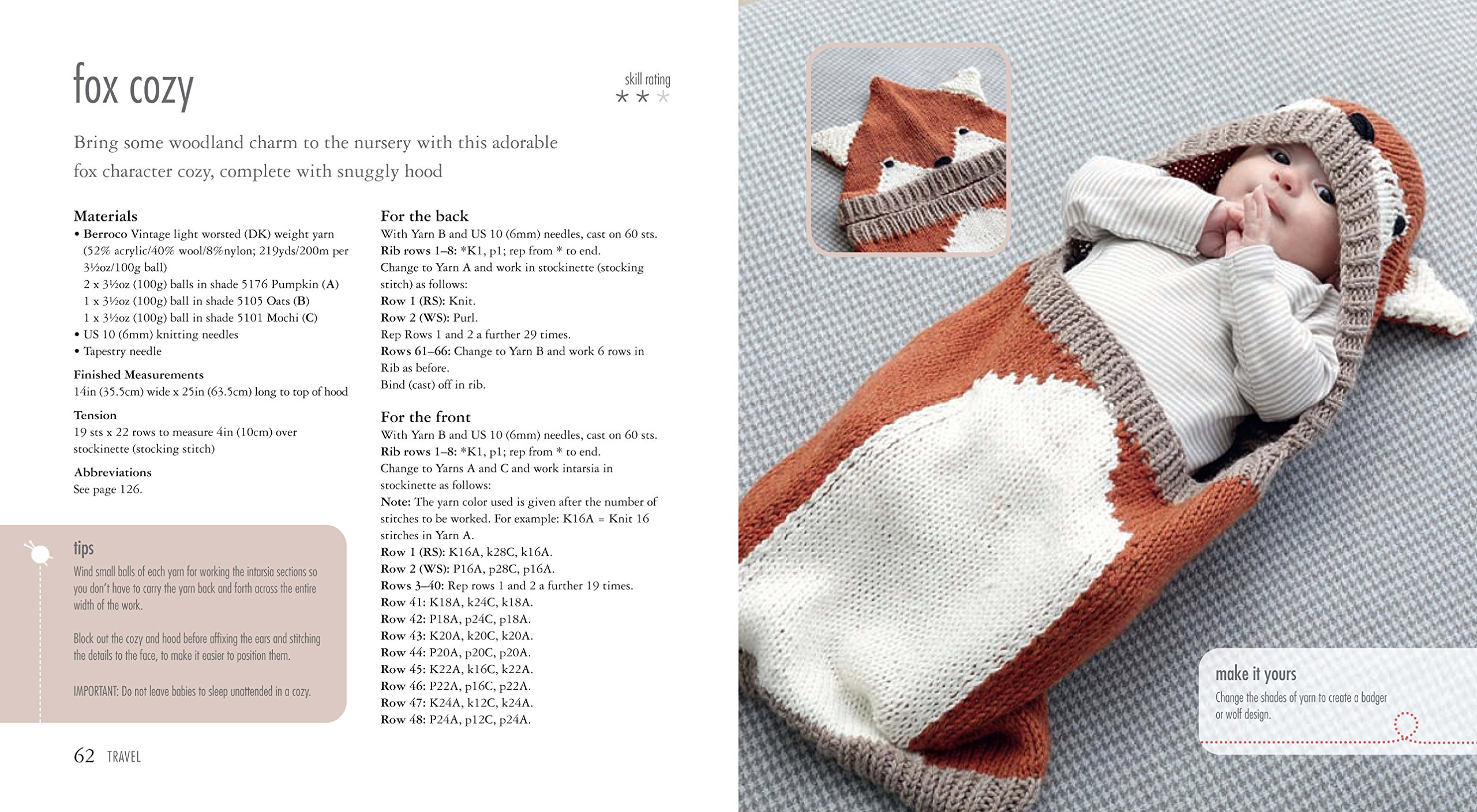 35 Knitted Baby Blankets: For the nursery, stroller, and playtime ...