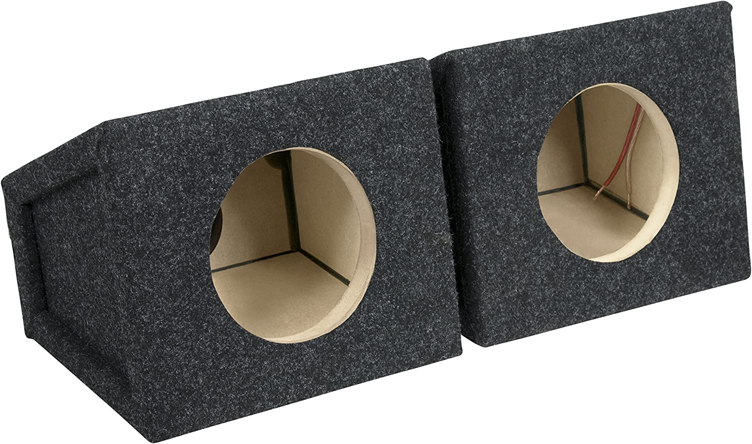 "Atrend 8.8PR Bbox 8.8"" Pro Audio Tuned Speaker Enclosures (8), Black"