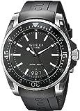 Gucci Unisex-Armbanduhr Dive Analog Quarz verschiedene Materialien YA136204