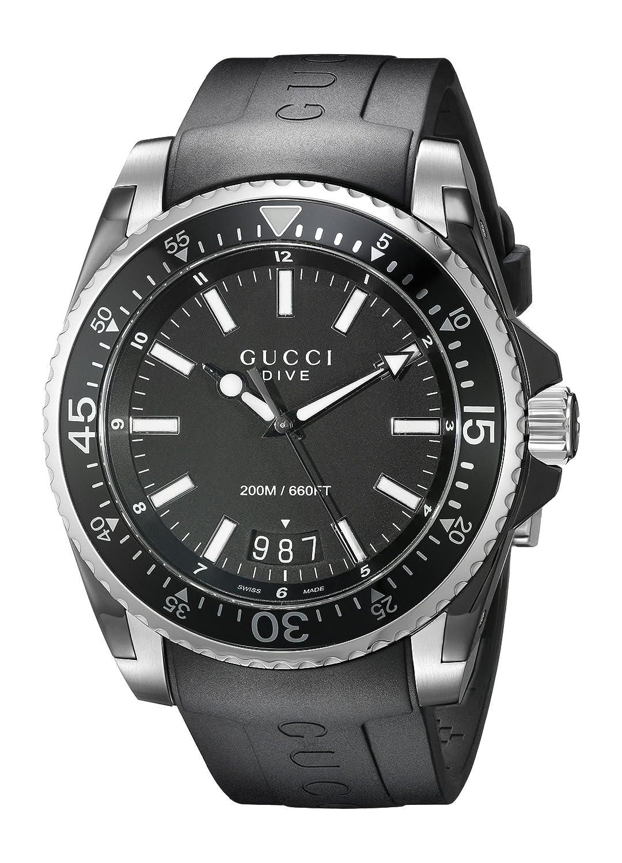 c1d9e6ed25e Gucci YA136204 Men s Dive Wrist Watches