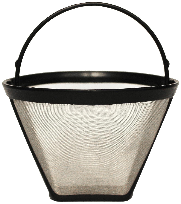 Menalux FP02 - Filtro permanente per caffè, 1 x 4, acciaio Inox