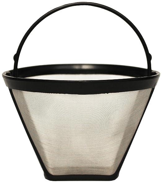 Menalux FP02 Filtro Fijo para Cafetera (Acero Inoxidable, 15 Ta