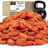 Traina Home Grown California Sun Dried Fancy Ruby Royal Apricots SEASONAL/LIMITED - Healthy, No Sugar Added, Non GMO, Gluten