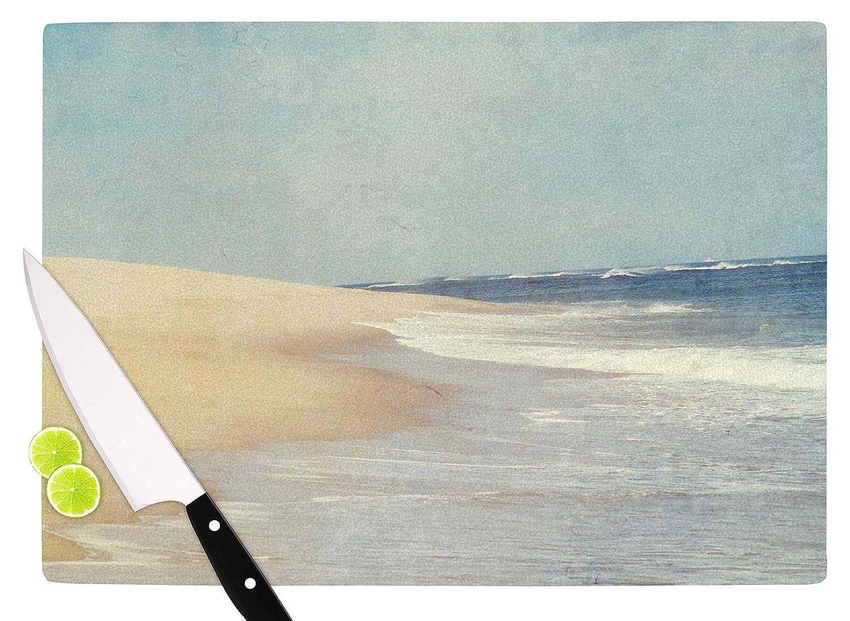 Multicolor KESS InHouse CV1001ACB01 Chelsea VictoriaThe Cape Nature Blue Cutting Board 11.5 x 8.25