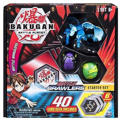 Bakugan, Battle Brawlers Starter Set Transforming Creatures, Aquos Garganoid, for Ages 6 and Up: Toys & Games