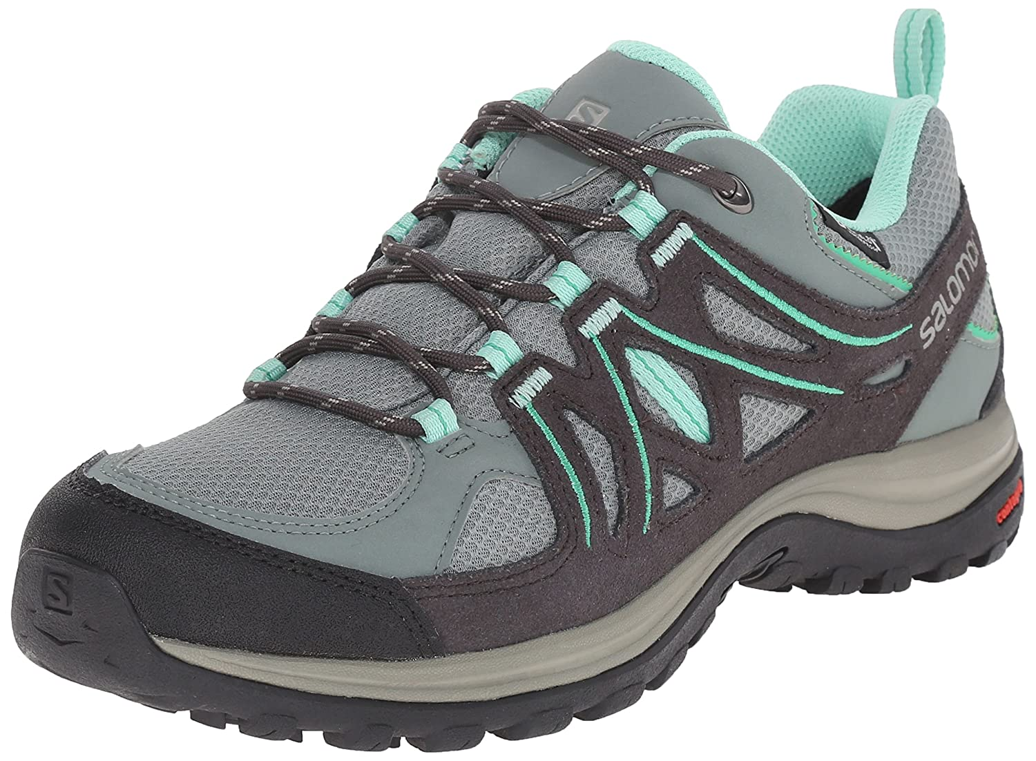 Salomon Ellipse 2 CS WP Outdoorschuh, Groesse 5, Türkis/Grau