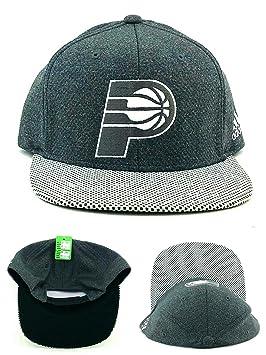 Adidas Indiana Pacers NBA Alternate Jersey Gris Plata Dri Snapback Sombrero Cap: Amazon.es: Deportes y aire libre