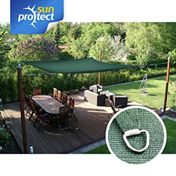 sunprotect 83244 professionnel voile dombrage 35 x 45 m rectangle