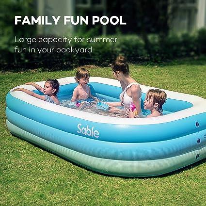 Amazon.com: Piscina inflable Sable, centro de natación para ...