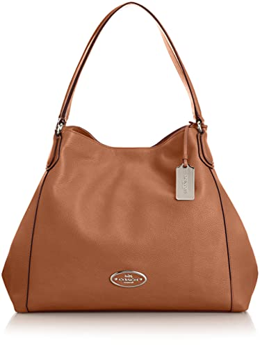 Coach Edie Medium Womens Leather Shoulder Bag: Handbags: Amazon.com