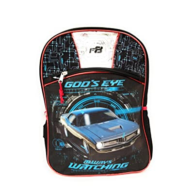 Fast & Furious 16 inches boys backpack (Large)