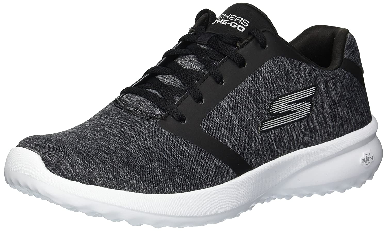 Skechers Women's on-The-Go City 3.0-Immerse Sneaker B078GWDZQV 7 B(M) US|Black/White
