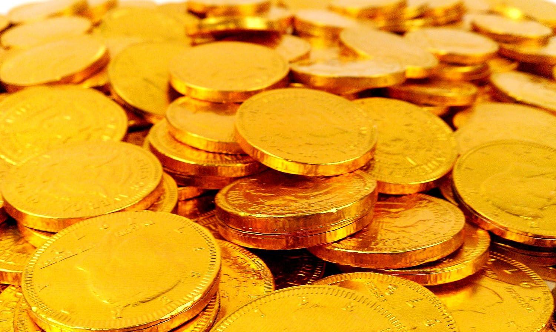 Amazon.com : Fort Knox Milk Chocolate Gold Coins - 5 Lb Bulk Bag ...