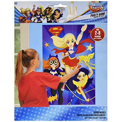 Party Game | DC Super Hero Girls Collection | Party Accessory: Toys & Games