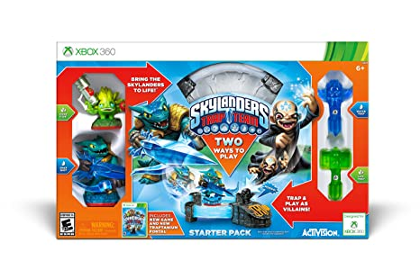 Amazon Com Skylanders Trap Team Starter Pack Xbox 360 Activision Inc Video Games