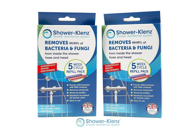 Shower-Klenz 5 Week Cycle Refill Pack x 2 Omnia-Klenz Ltd