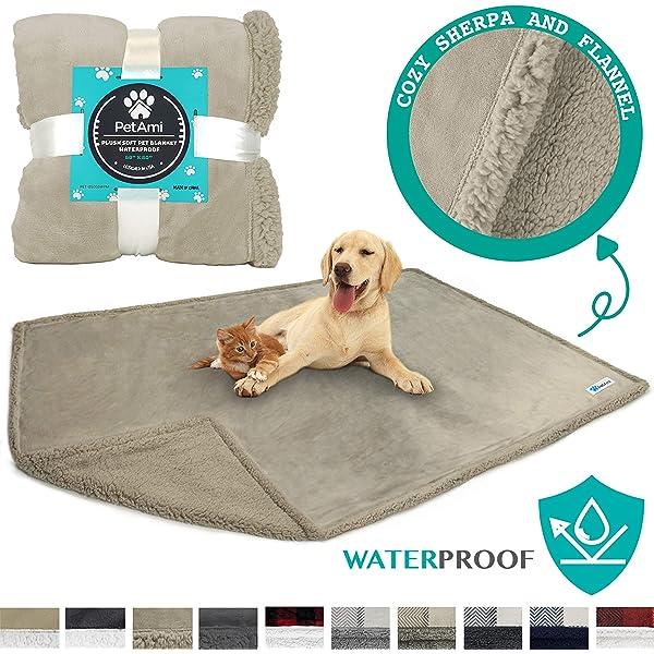 Amazon.com: Miadore - Manta impermeable para perro, suave ...