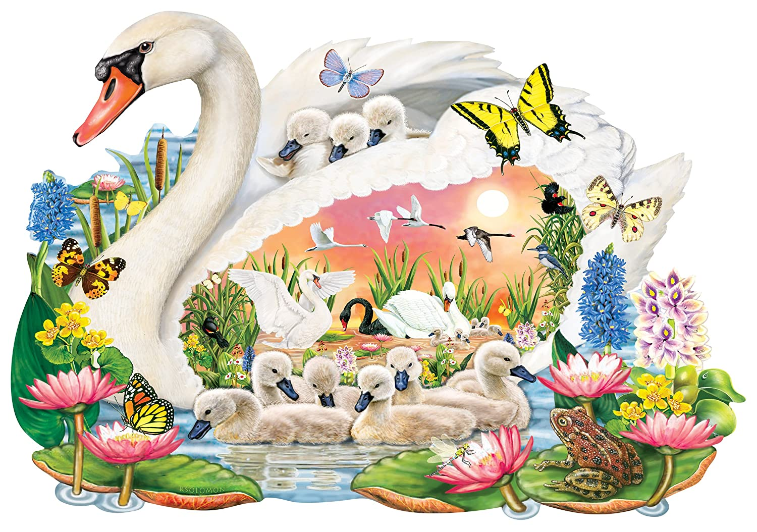 250pc Wentworth Wooden Jigsaw Mother's Puzzles - puzzle). Mute Swan (shaped Wooden puzzle). Perfect Mother's Day Gift B079VPXQMG, CLAMP:850461a8 --- ero-shop-kupidon.ru