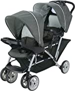 Graco DuoGlider Double Stroller | Lightweight Double Stroller with Tandem Seating,