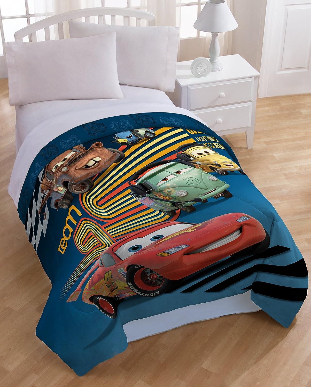 Amazon com  Disney Pixar Cars Movie Twin Microfiber Comforter and Sham   Home   Kitchen. Amazon com  Disney Pixar Cars Movie Twin Microfiber Comforter and