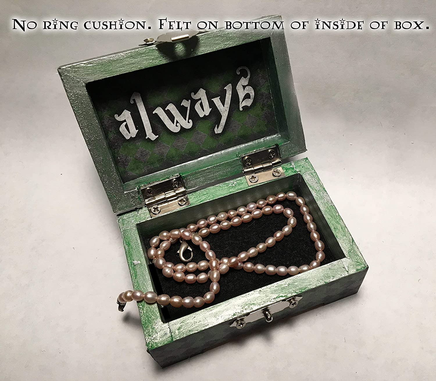 Jewelry Harry Potter Slytherin Hogwarts Inspired Proposal Engagement