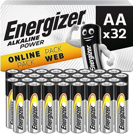 Energizer Batterien Aa Alkaline Power 32 Stück Elektronik