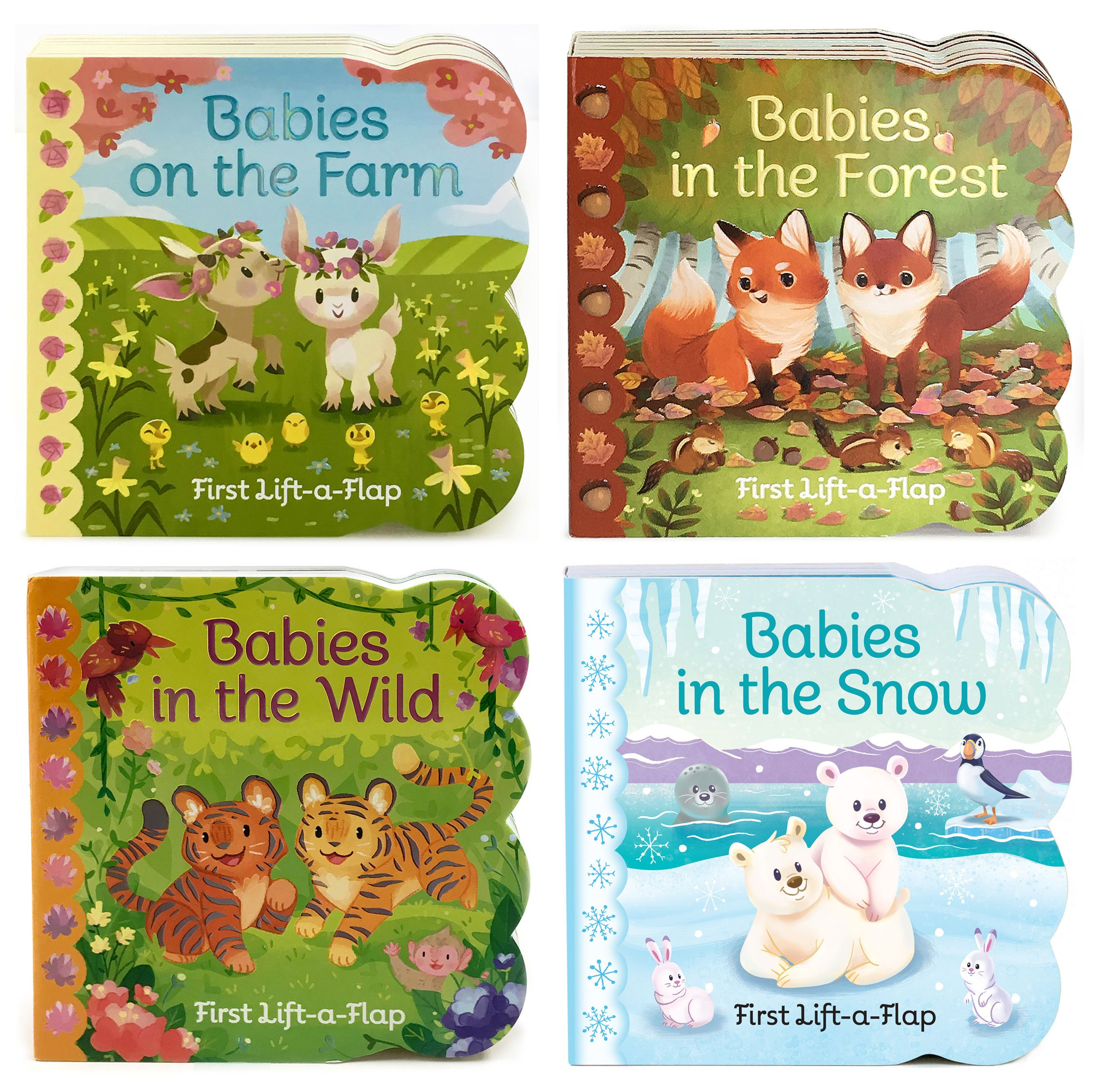 4 Pack Baby Animals Lift-a-Flap Board Books pdf epub
