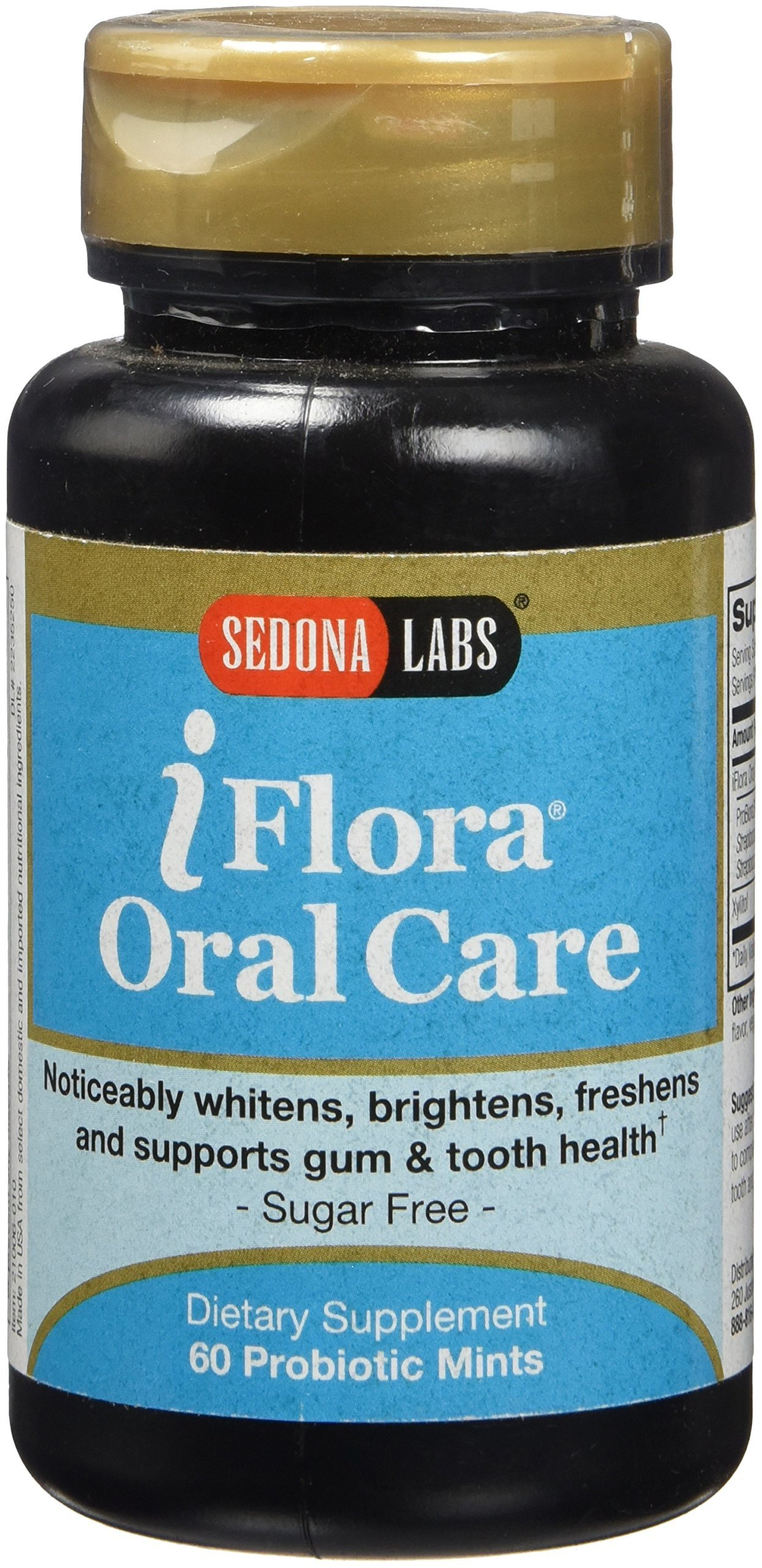 Sedona Labs Iflora Oral Care Probiotic Mints, 60 Count