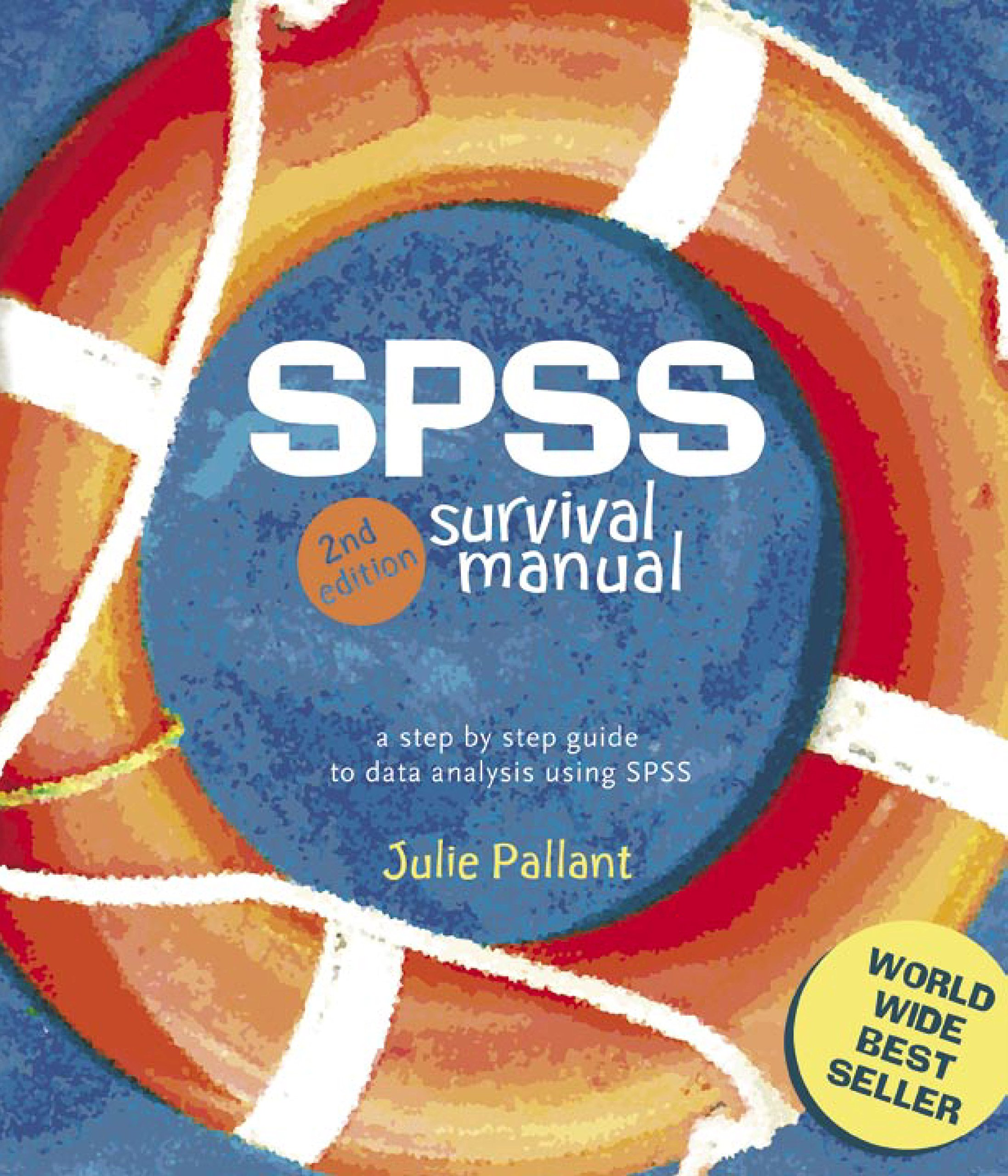 SPSS Survival Manual : A Step by Step Guide to Data Analysis Using SPSS: Julie  Pallant: 9781741144789: Amazon.com: Books