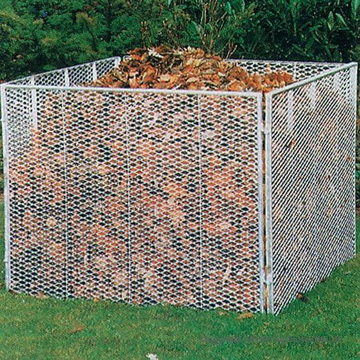 Compostador Spezial metal. 100 X 100 CM de 4 piezas: Amazon.es: Jardín