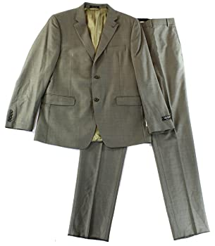 Lauren By Ralph Lauren Lauren Ralph Lauren Mens R Two Button Wool Suit Set Brown 40