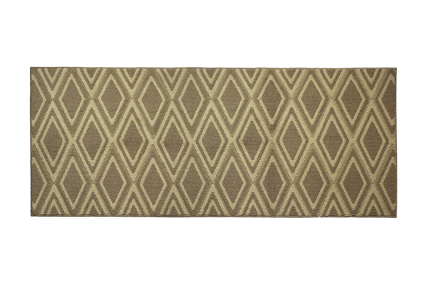 Jean Pierre All Loop Sean 24 x 60 in. Decorative Textured Accent Rug, Linen/Berber Creative Home Ideas YMA004200