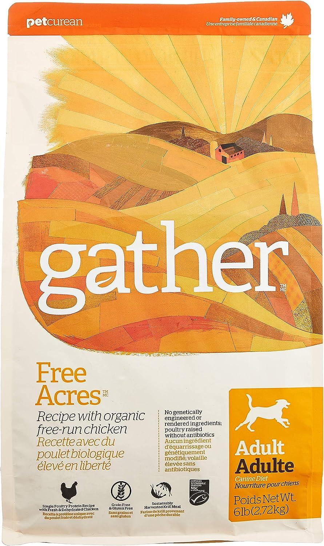 Petcurean Gather Free Acres Recipe Dry Dog Food - 6 LB. Bag