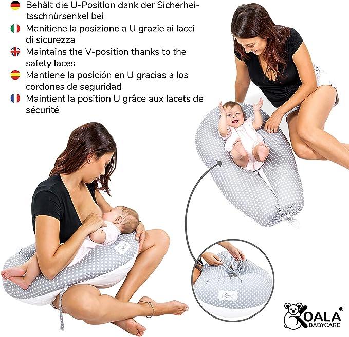 R/ücken Stillen Schwangerschaftskissen f/ür Schwangerschaft 65 x 120 cm Schwangerschaftskissen f/ür den ganzen K/örper Schlafen Kuscheln U-Form mit abnehmbarem waschbarem Baumwoll-Kissenbezug