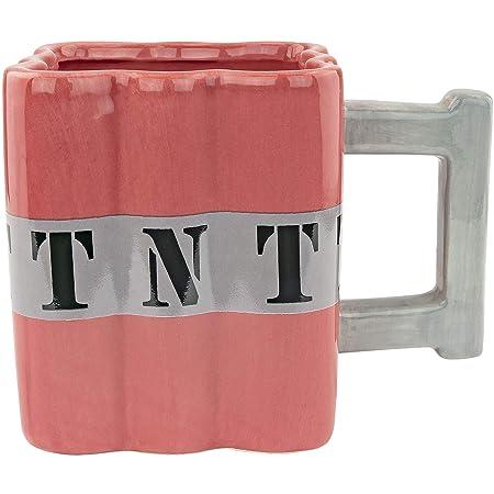 Fairly Odd Novelties FON-10238 TNT Dynamite Kaffeetasse, Keramik, Rot