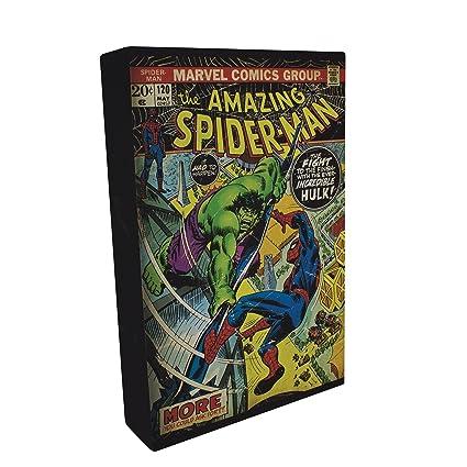 Paladone GIFPAL203 Lámpara para Mesilla Spiderman, Multicolor
