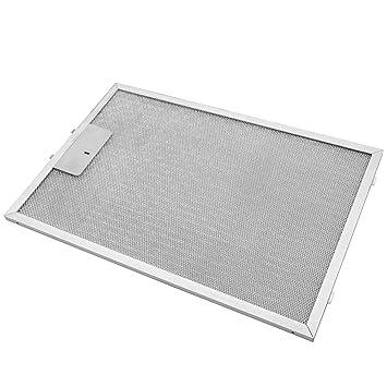 vhbw Filtro Permanente metálico para Grasa 38,8 x 26,5 x 0,9cm Adecuado para Profilo 3MEB 90 X1, DVB 6R450, DVB 9R450 Campana extractora Metal: Amazon.es: Electrónica