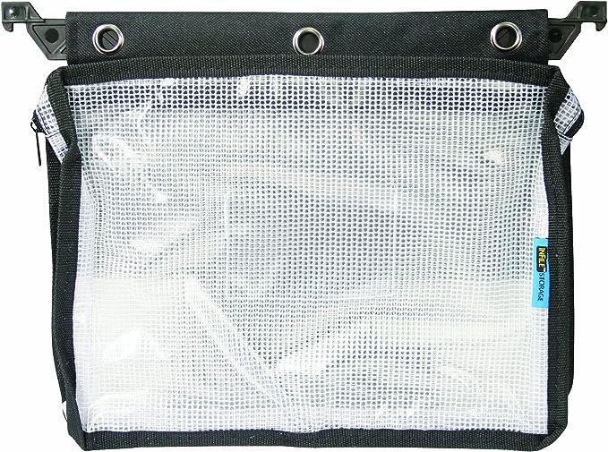 Zip Beutel 40x45mm 50µ Blue Transparent with Quick Release Snap
