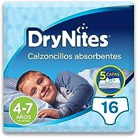 Huggies DryNites, 4 - 7 años niño, 16