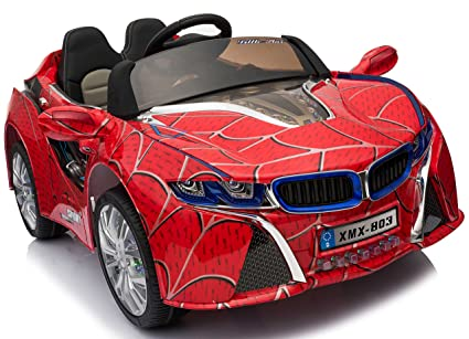 Amazon Com Kidone I8 Style Sports Concept Ride On Toy Car 12v Mp3